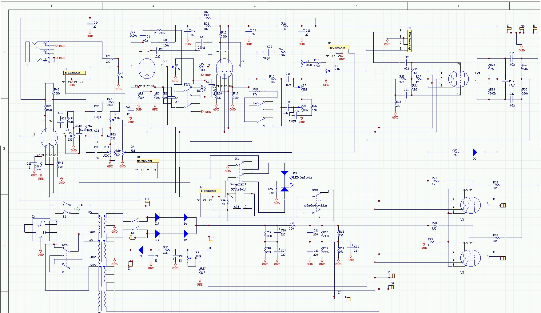 Parallel Effects Loop Pedal Schematic Wiring Diagrams Volume Diagram Get Free Image About Jazz Bass P